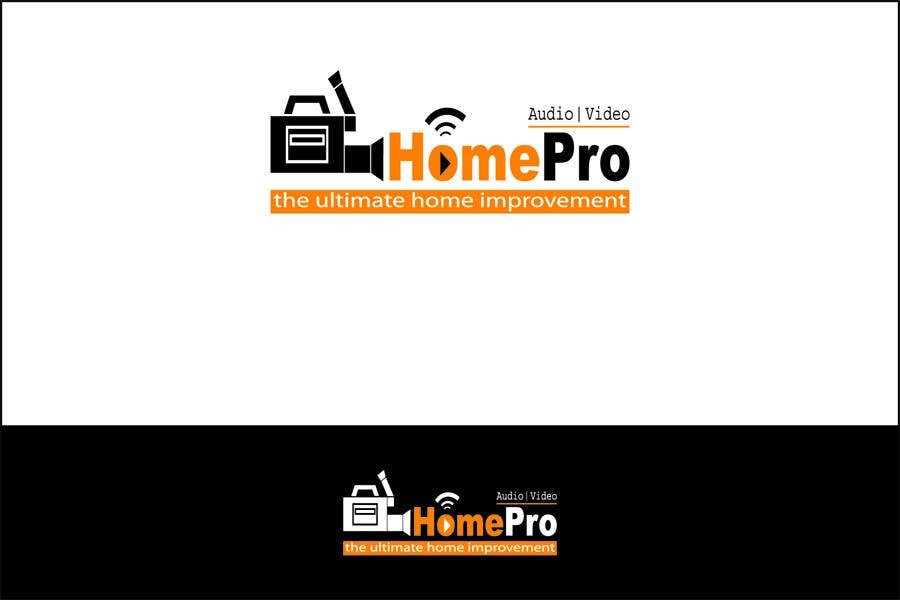Bài tham dự cuộc thi #                                        217                                      cho                                         Logo Design for HomePro Audio & Video