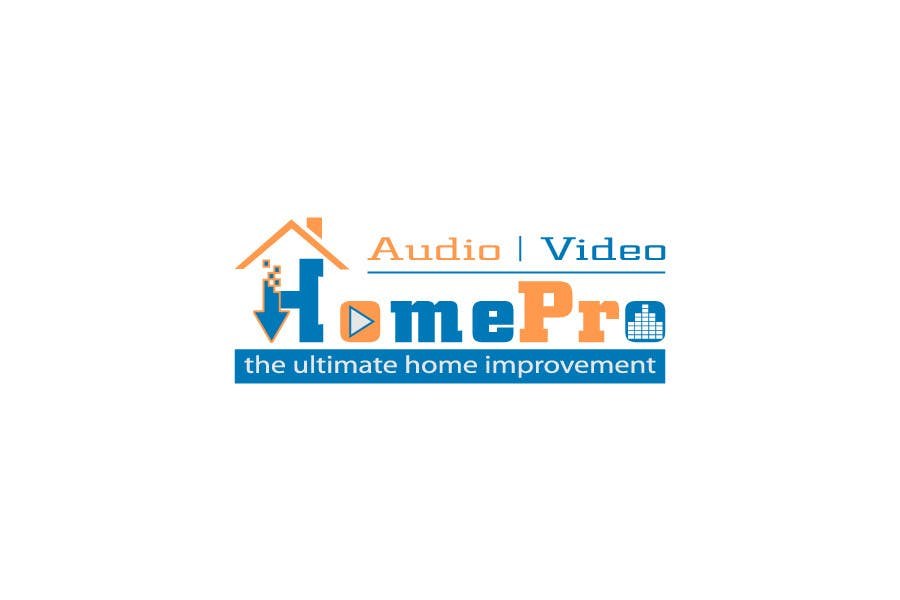 Bài tham dự cuộc thi #                                        299                                      cho                                         Logo Design for HomePro Audio & Video