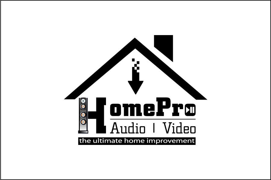 Bài tham dự cuộc thi #                                        273                                      cho                                         Logo Design for HomePro Audio & Video