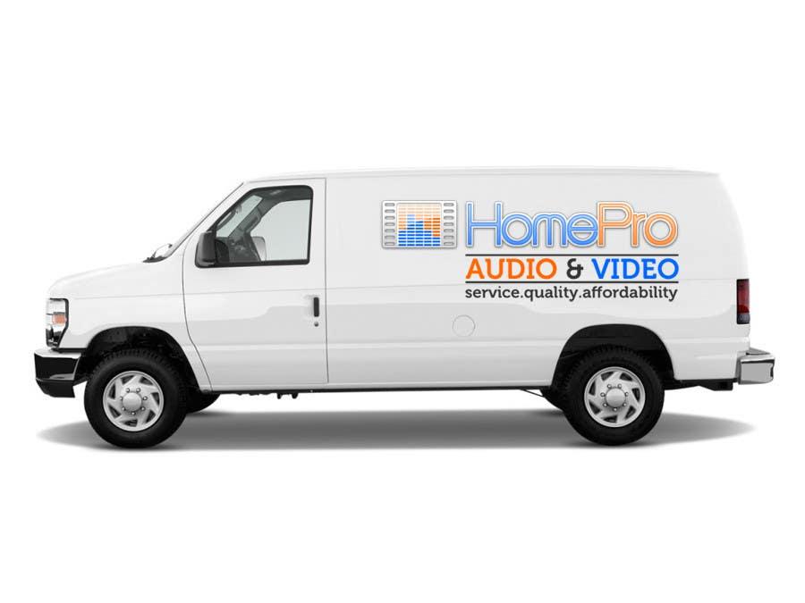 Bài tham dự cuộc thi #                                        308                                      cho                                         Logo Design for HomePro Audio & Video