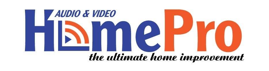 Bài tham dự cuộc thi #                                        324                                      cho                                         Logo Design for HomePro Audio & Video
