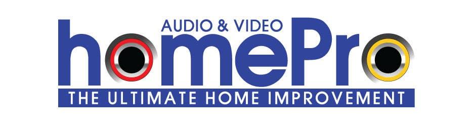 Bài tham dự cuộc thi #                                        323                                      cho                                         Logo Design for HomePro Audio & Video