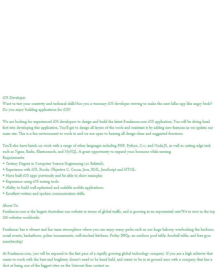 Proposition n°14 du concours Write a job ad for me