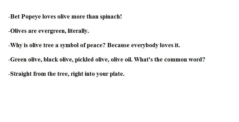 Entry 50 By Rabbitpaw For Olives Need Catch Phrases For Social