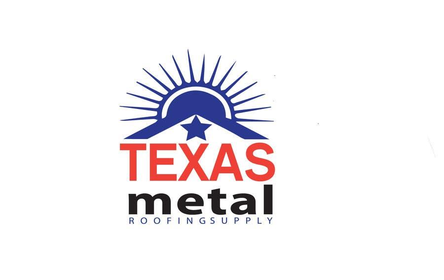 Bài tham dự cuộc thi #                                        171                                      cho                                         Design a Logo for Texas Metal Roofing Supply