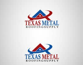#113 for Design a Logo for Texas Metal Roofing Supply af Don67
