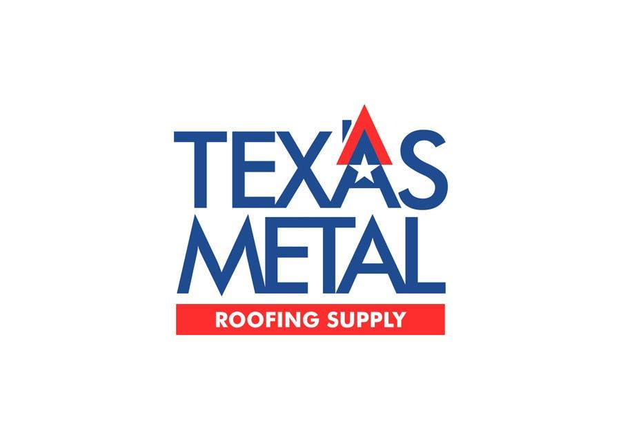 Bài tham dự cuộc thi #                                        90                                      cho                                         Design a Logo for Texas Metal Roofing Supply