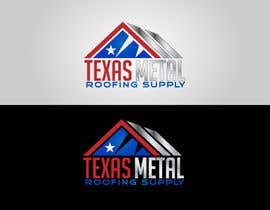 #123 for Design a Logo for Texas Metal Roofing Supply by Cbox9