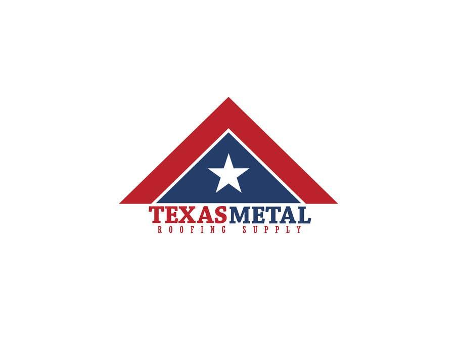 Bài tham dự cuộc thi #                                        62                                      cho                                         Design a Logo for Texas Metal Roofing Supply