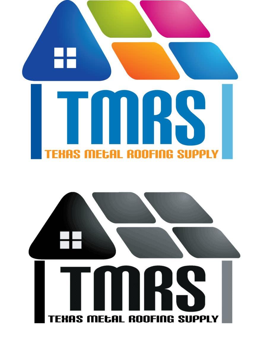 Bài tham dự cuộc thi #                                        58                                      cho                                         Design a Logo for Texas Metal Roofing Supply