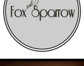 nº 66 pour Design a Logo for Fox Sparrow par maygan