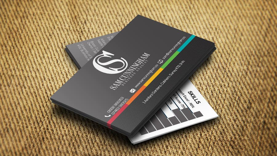 Entry 48 by salmankhan43 for design a business cards for a young contest entry 48 for design a business cards for a young business analyst reheart Choice Image