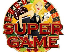 #35 para Ontwerp een Logo for supergame.be por MasterR16041980