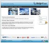 Graphic Design Конкурсная работа №10 для Website Design for .design-it GmbH - software.internet.consulting