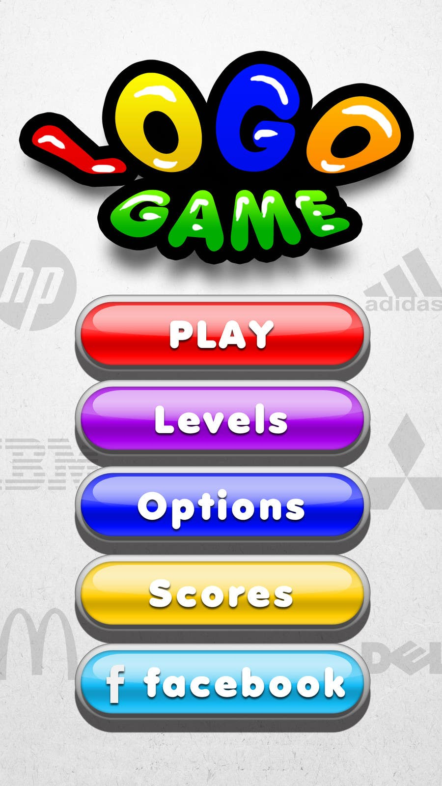 User Interface / IA Contest Entry #36 for Design Mockup/Graphics for Android Game