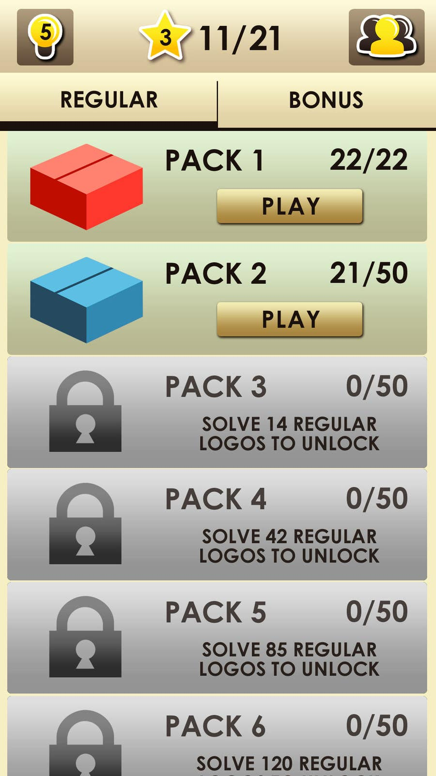 User Interface / IA Contest Entry #29 for Design Mockup/Graphics for Android Game