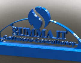 nº 36 pour 3D PRINT CONTEST! Company logo and name par ChandranMoon