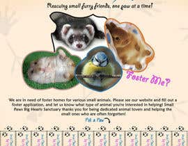 #18 cho Design a Flyer for a small animal rescue bởi darealMJ