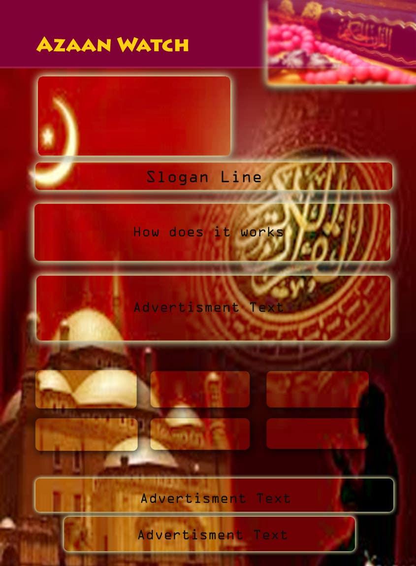 Bài tham dự cuộc thi #3 cho Design a Flyer for a High Quality Azan Watch