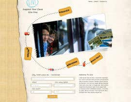 #6 cho Design a Website Mockup for a charity website bởi atularora