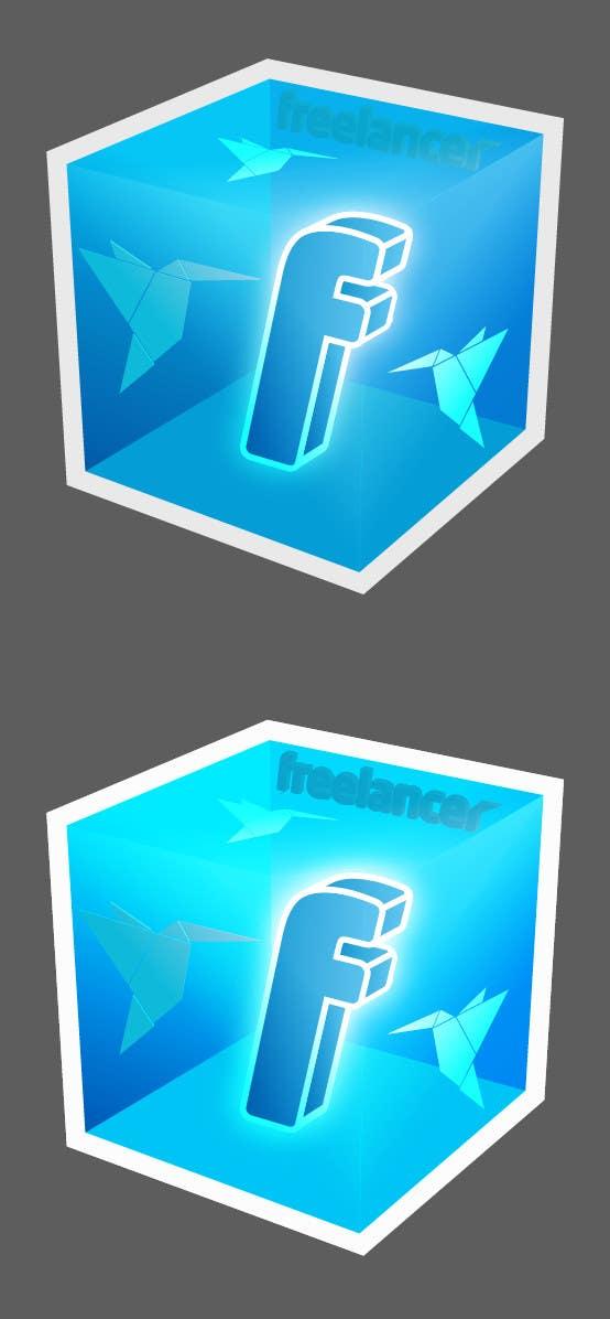 Bài tham dự cuộc thi #                                        84                                      cho                                         Help the Freelancer design team design a new die cut sticker