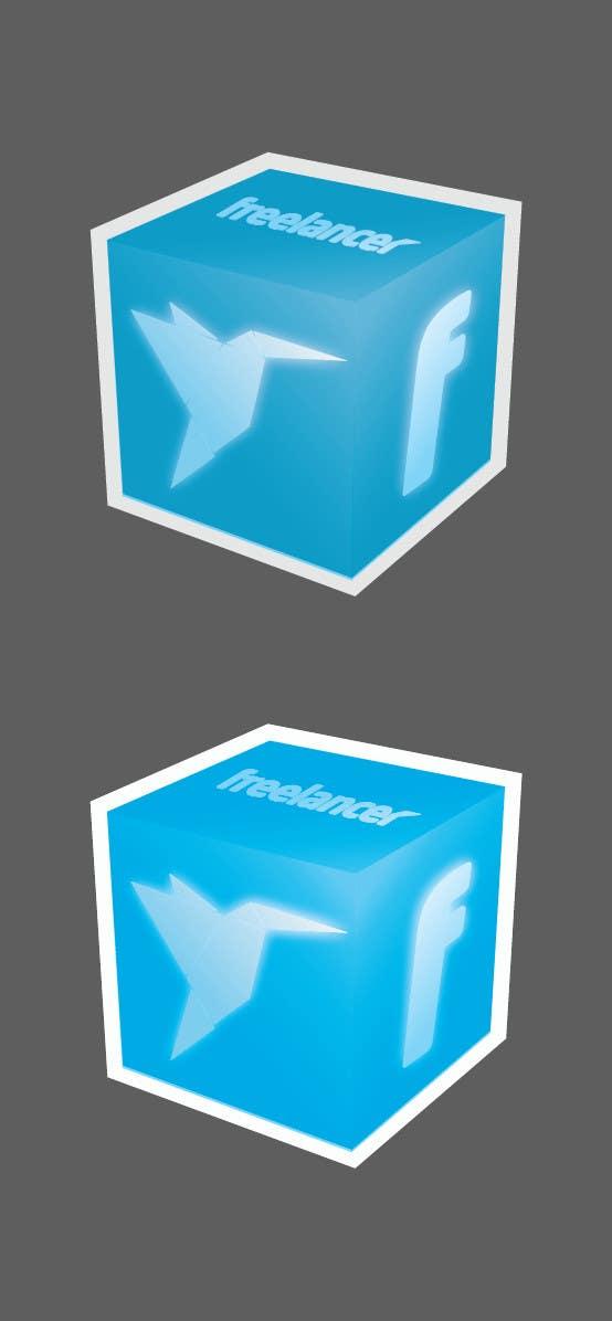 Bài tham dự cuộc thi #                                        87                                      cho                                         Help the Freelancer design team design a new die cut sticker