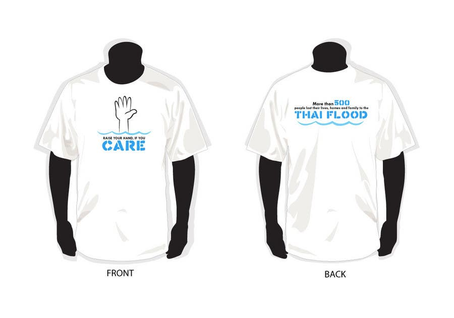 Participación en el concurso Nro.13 para T-Shirt Design for Thai Flood Victims