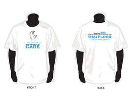 #13 para T-Shirt Design for Thai Flood Victims de suejan3