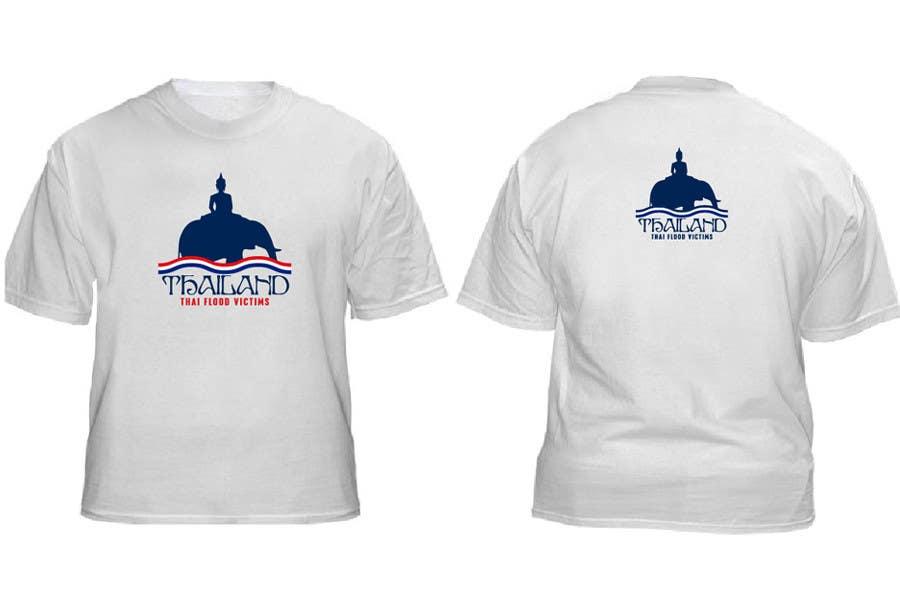 Inscrição nº 51 do Concurso para T-Shirt Design for Thai Flood Victims