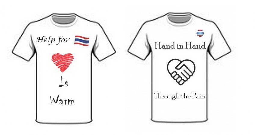 Participación en el concurso Nro.83 para T-Shirt Design for Thai Flood Victims