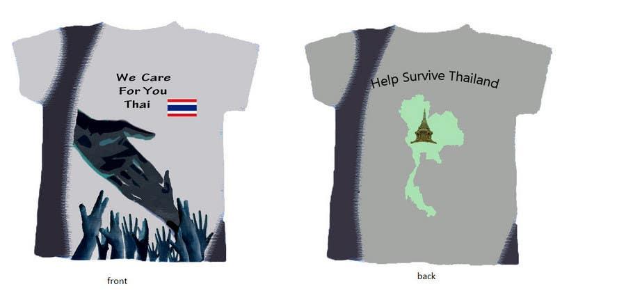 Inscrição nº 80 do Concurso para T-Shirt Design for Thai Flood Victims