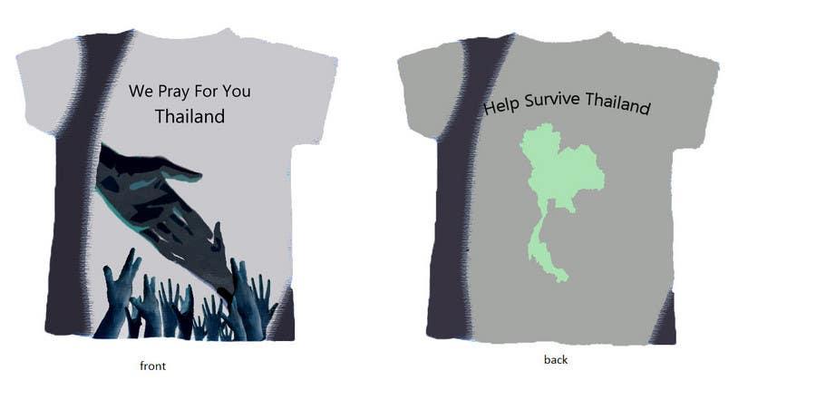 Inscrição nº 75 do Concurso para T-Shirt Design for Thai Flood Victims