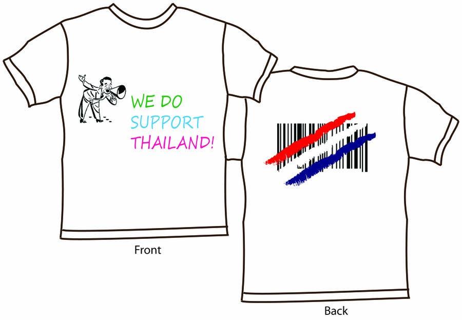 Participación en el concurso Nro.28 para T-Shirt Design for Thai Flood Victims