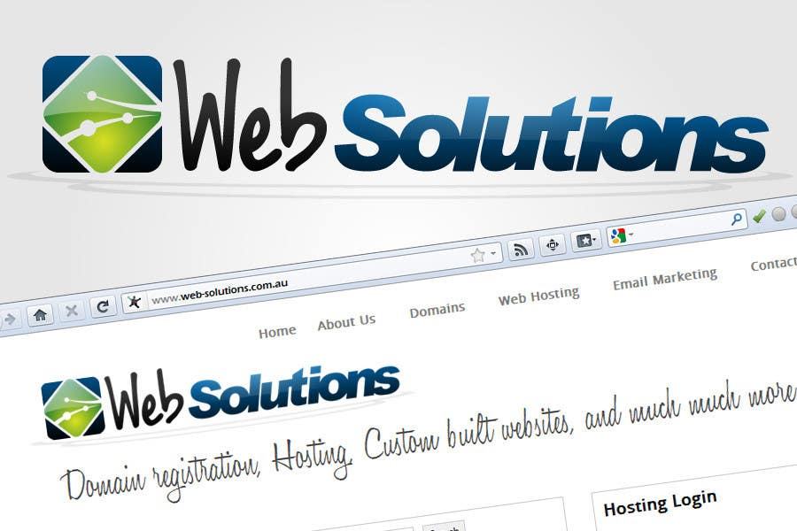 #219 for Graphic Design for Web Solutions by Rainner