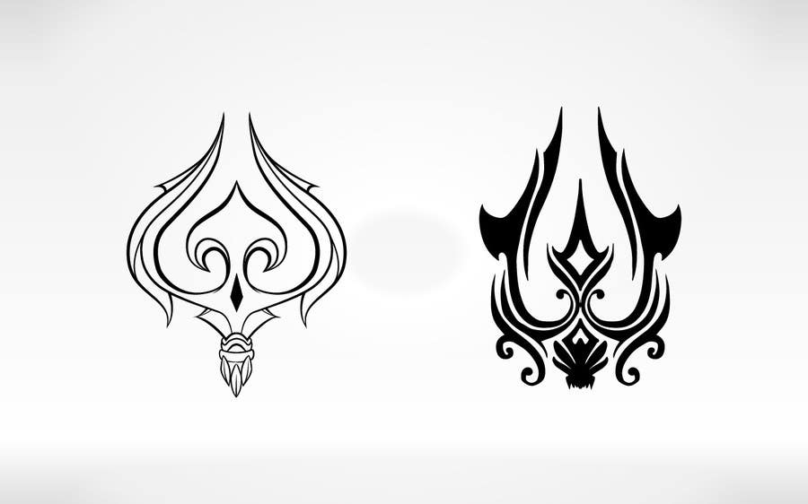 #15 for High Quality Fantasy Trident Staff Logo Design by MichaelCheung