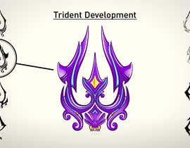 #25 for High Quality Fantasy Trident Staff Logo Design af MichaelCheung