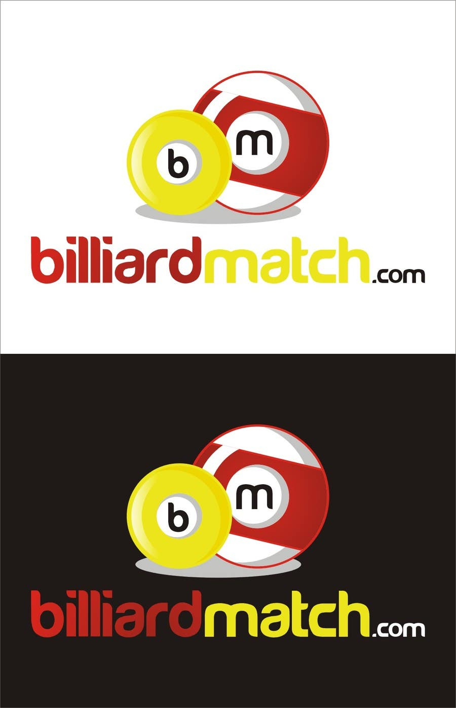 Kilpailutyö #7 kilpailussa Design a Logo for a billiard tournament & score-keeping website.