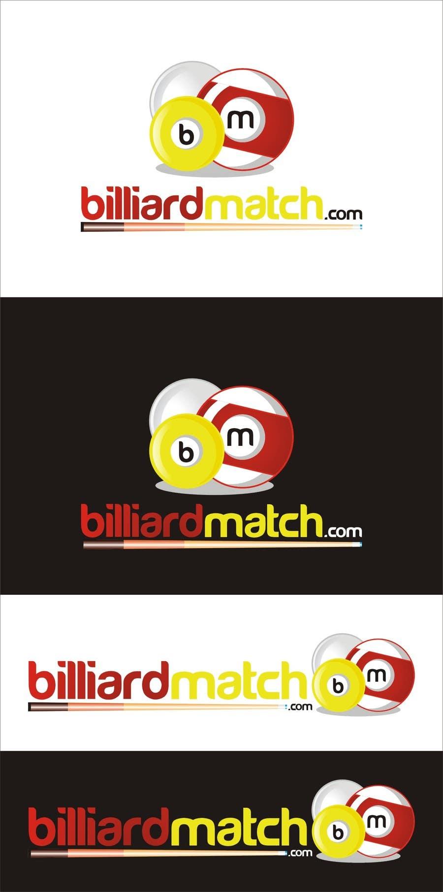 Kilpailutyö #11 kilpailussa Design a Logo for a billiard tournament & score-keeping website.