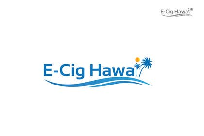 #4 for Design a Logo for E-CIG HAWAII af iffikhan