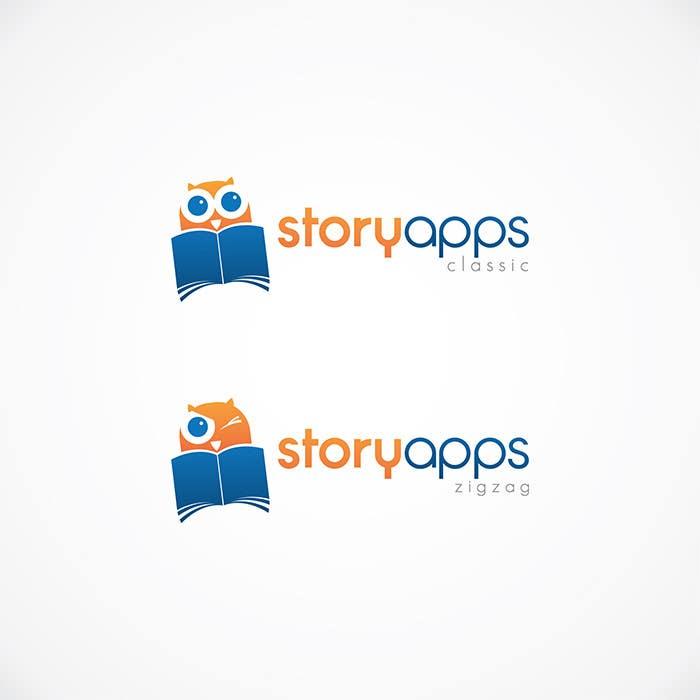Penyertaan Peraduan #54 untuk Design a Logo for storyapps - plus two variations of logo