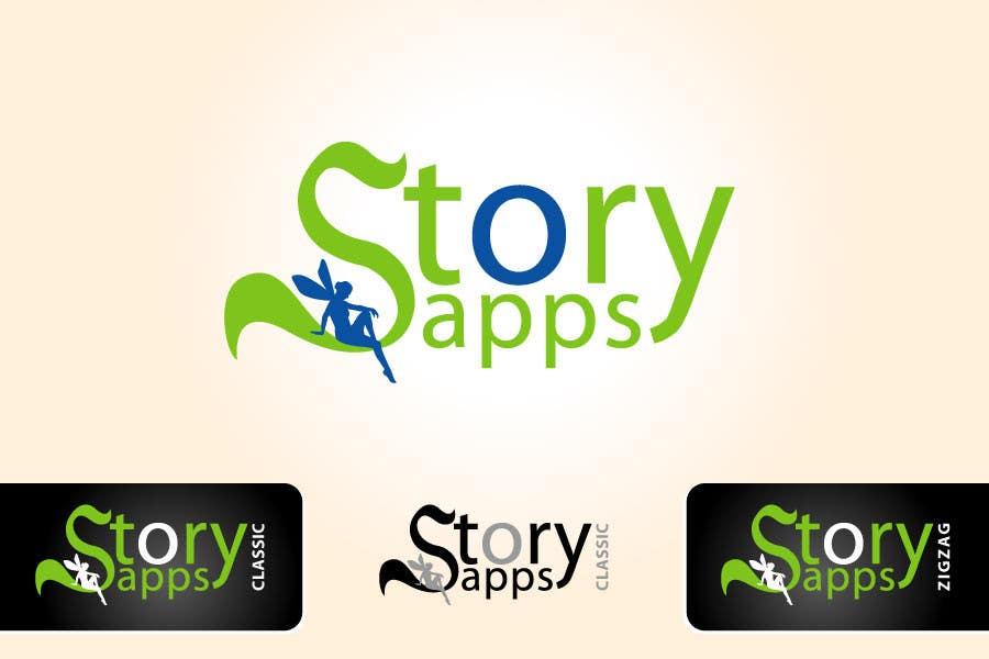 Penyertaan Peraduan #84 untuk Design a Logo for storyapps - plus two variations of logo