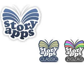 #42 para Design a Logo for storyapps - plus two variations of logo por rogerweikers