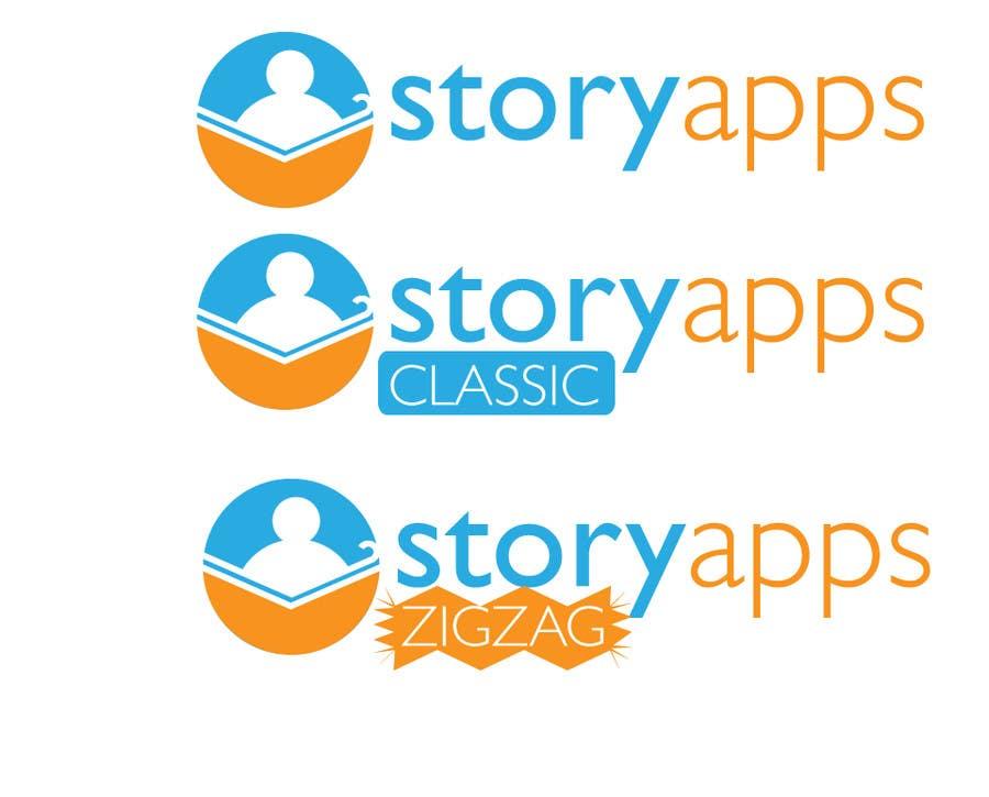 Penyertaan Peraduan #48 untuk Design a Logo for storyapps - plus two variations of logo