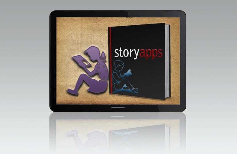 Penyertaan Peraduan #36 untuk Design a Logo for storyapps - plus two variations of logo
