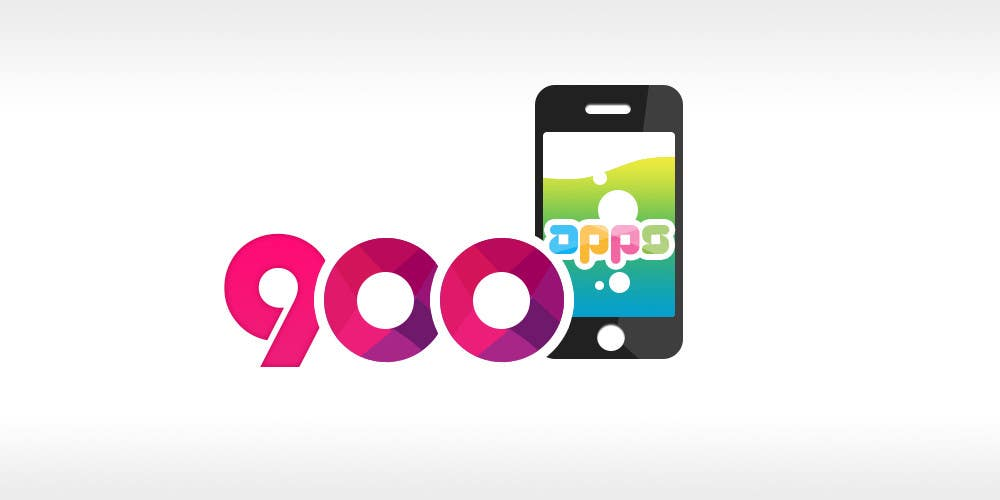 #27 for Logo design for 900apps.com mobile app business by geniedesignssl