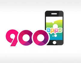 #27 untuk Logo design for 900apps.com mobile app business oleh geniedesignssl