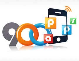 #43 untuk Logo design for 900apps.com mobile app business oleh geniedesignssl
