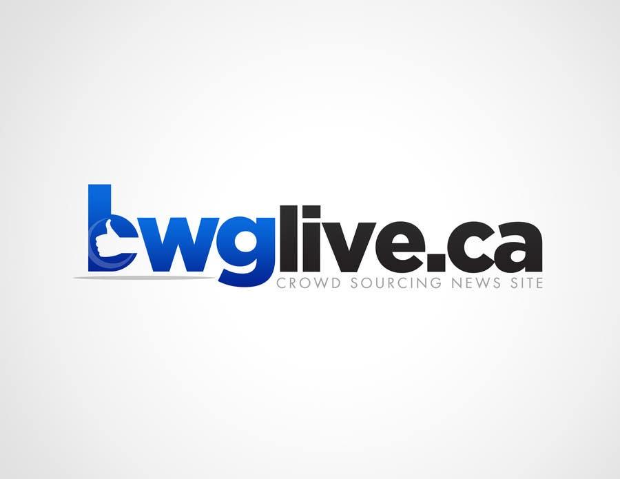 #4 for Design a Logo for bwglive.ca by alvinamaru