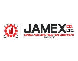 Nro 19 kilpailuun logo for jamex.co.jp a construction equipment exporter from tokyo käyttäjältä subhamkarn01