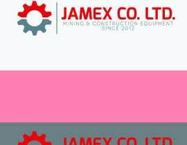 Nro 18 kilpailuun logo for jamex.co.jp a construction equipment exporter from tokyo käyttäjältä swayg